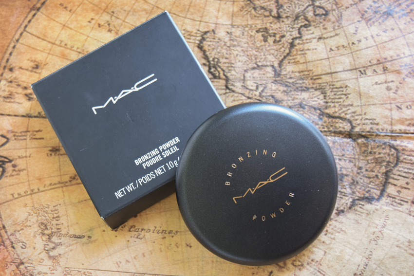 mac bronzing powder golden