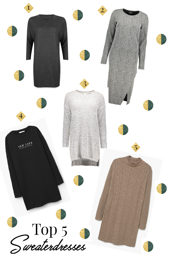 Top 5 sweaterdresses