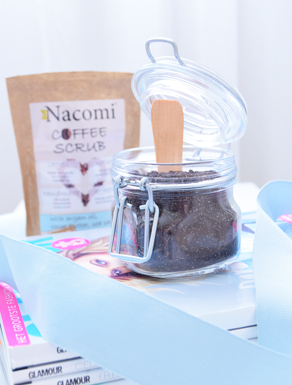 Nacomi vegan coffee scrub