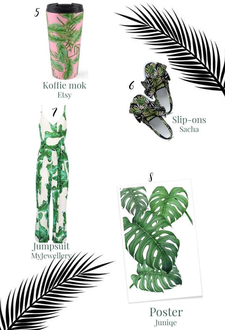 Palm print items