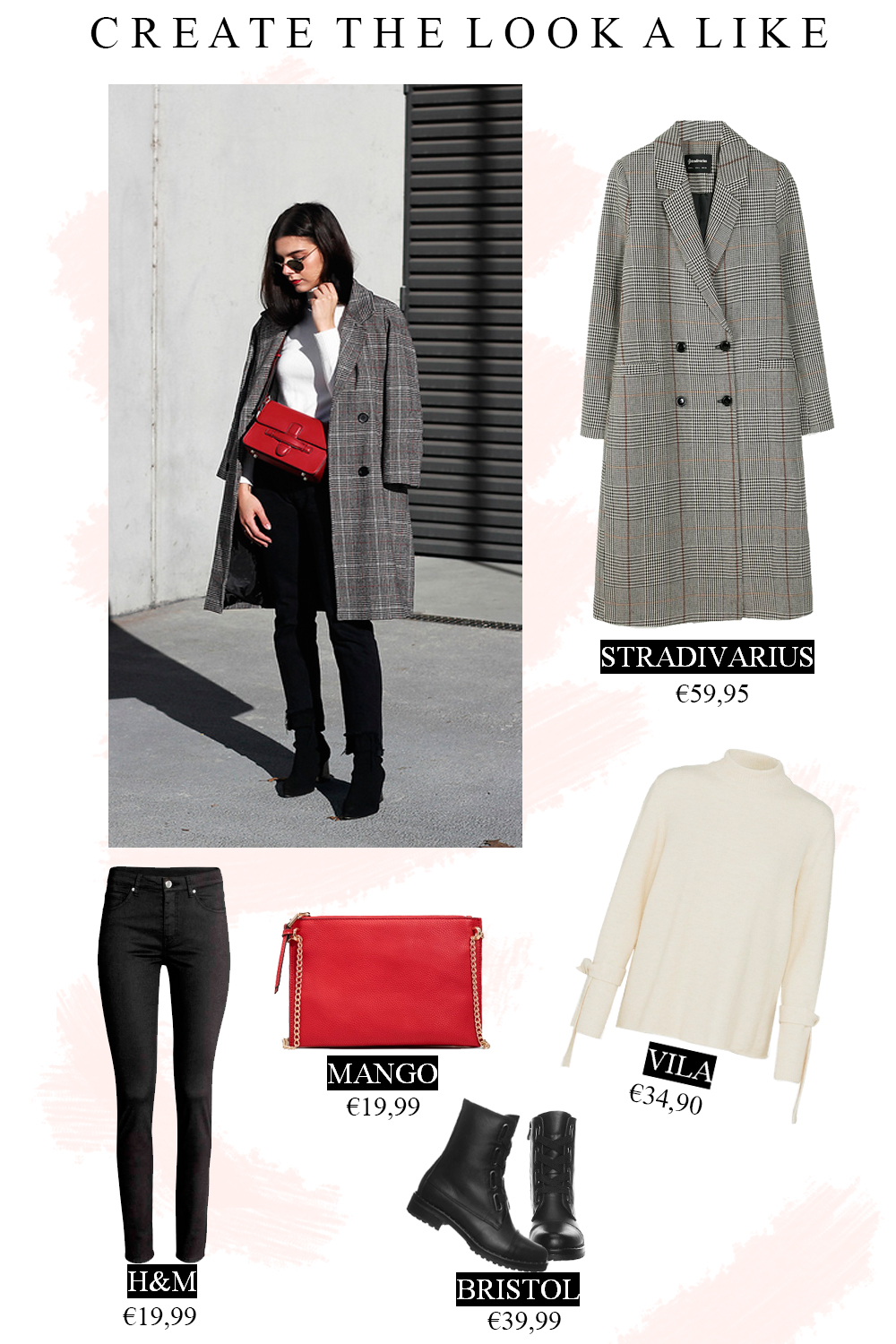 Create the look a like, een casual winter outfit