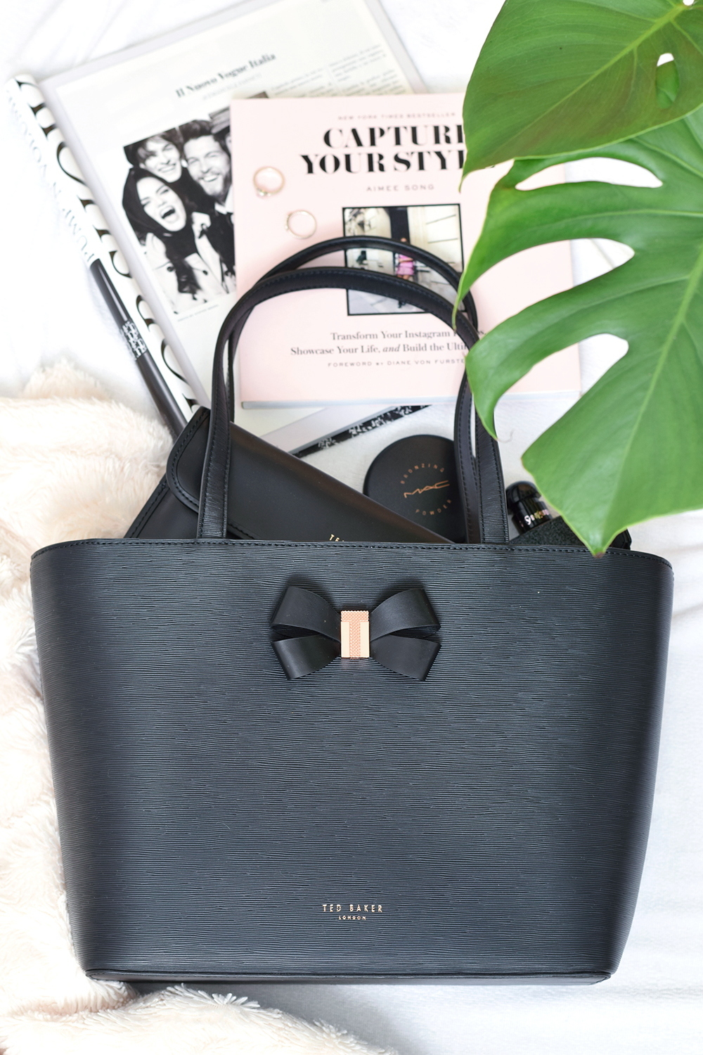 Brandfield Ted Baker Black Shopper Bag