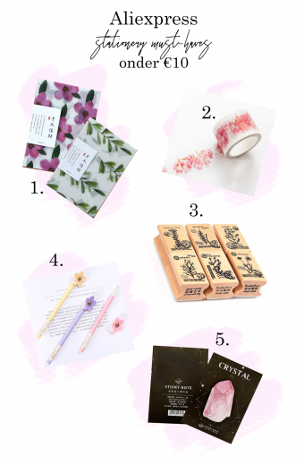 Aliexpress stationery onder de €10,-