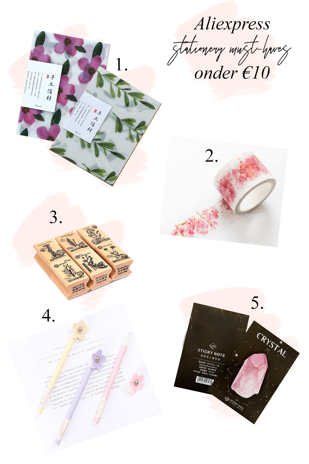 Aliexpress Stationery musthaves